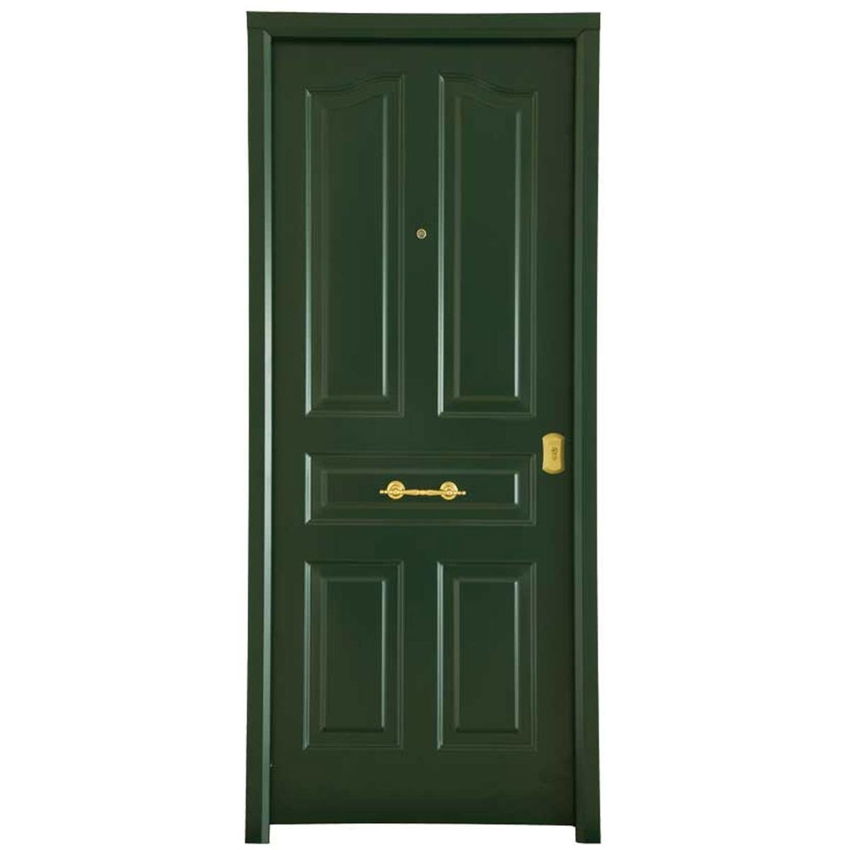 Puerta acorazada Antique Verde - Puertas acorazadas Serie B4-BL