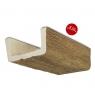 Viga 400x14,5x8 imitación madera