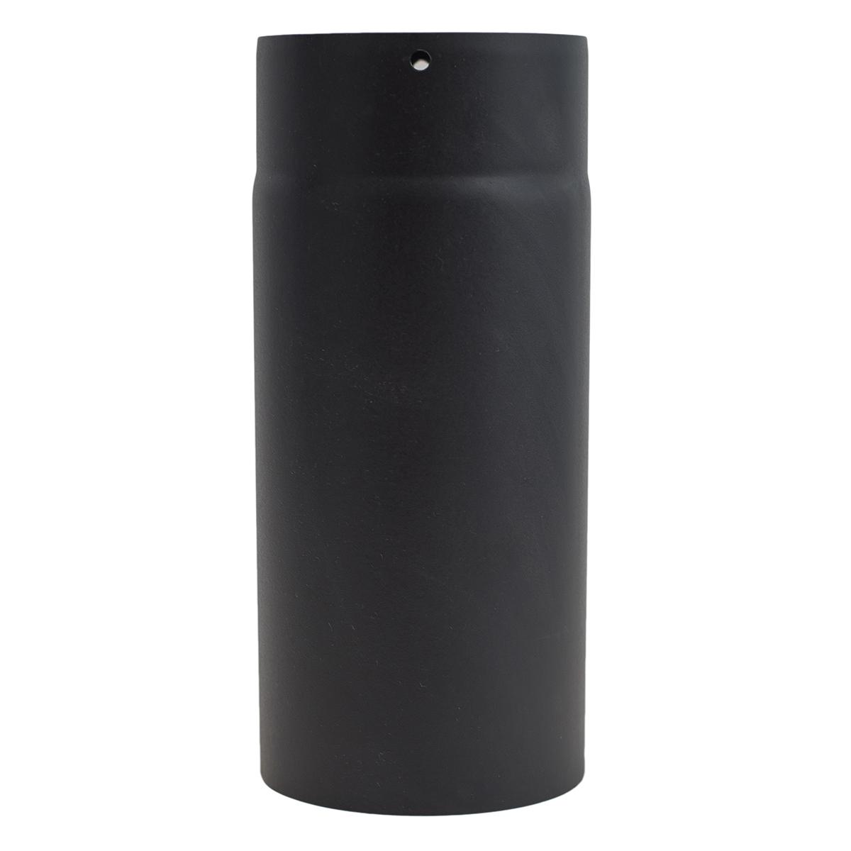 Tubo 50cm vitrificado negro mate