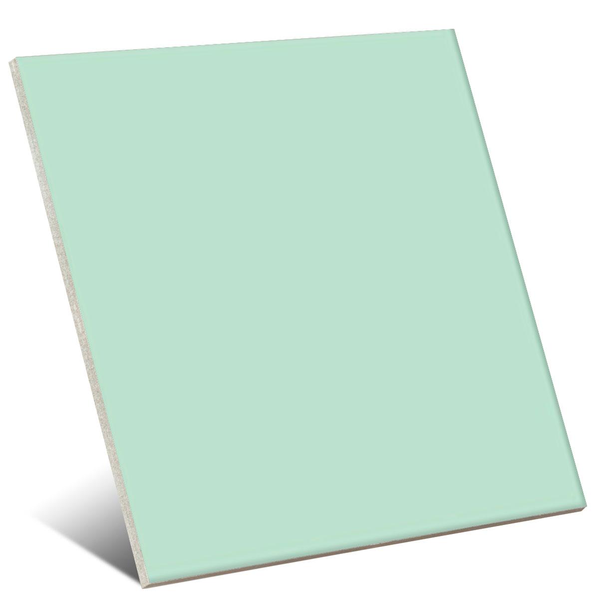 Color Verde Pastel Brillo 20x20 cm (caja 1 m2)