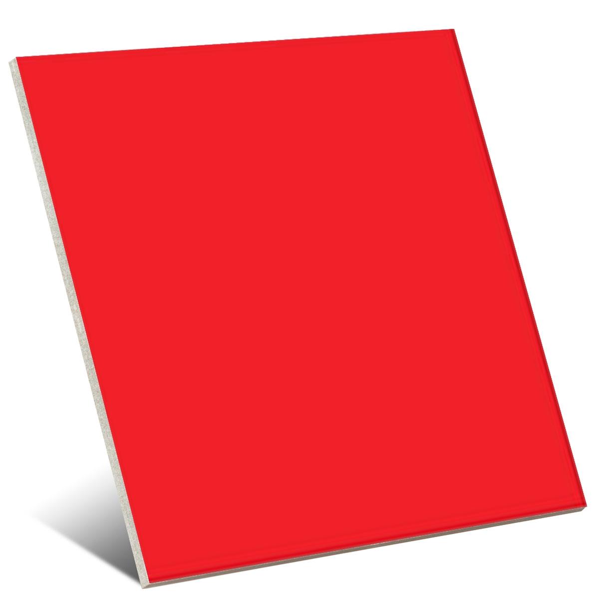 Color Rojo Brillo 20x20 cm (caja 1 m2)