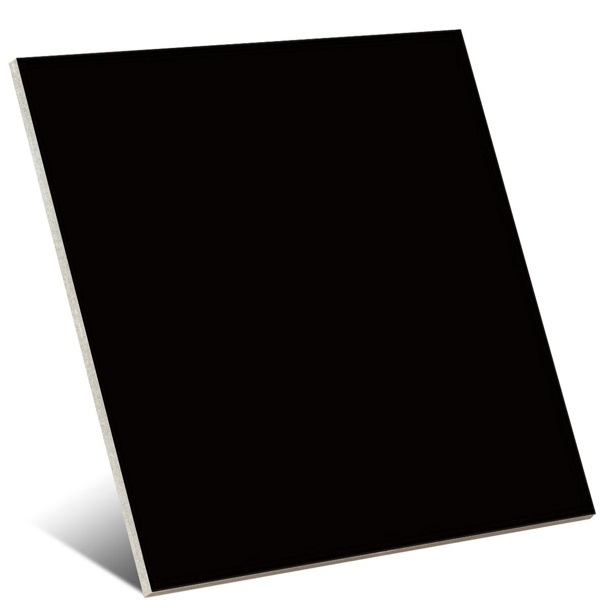Color Negro Brillo 20x20 cm (caja 1 m2)