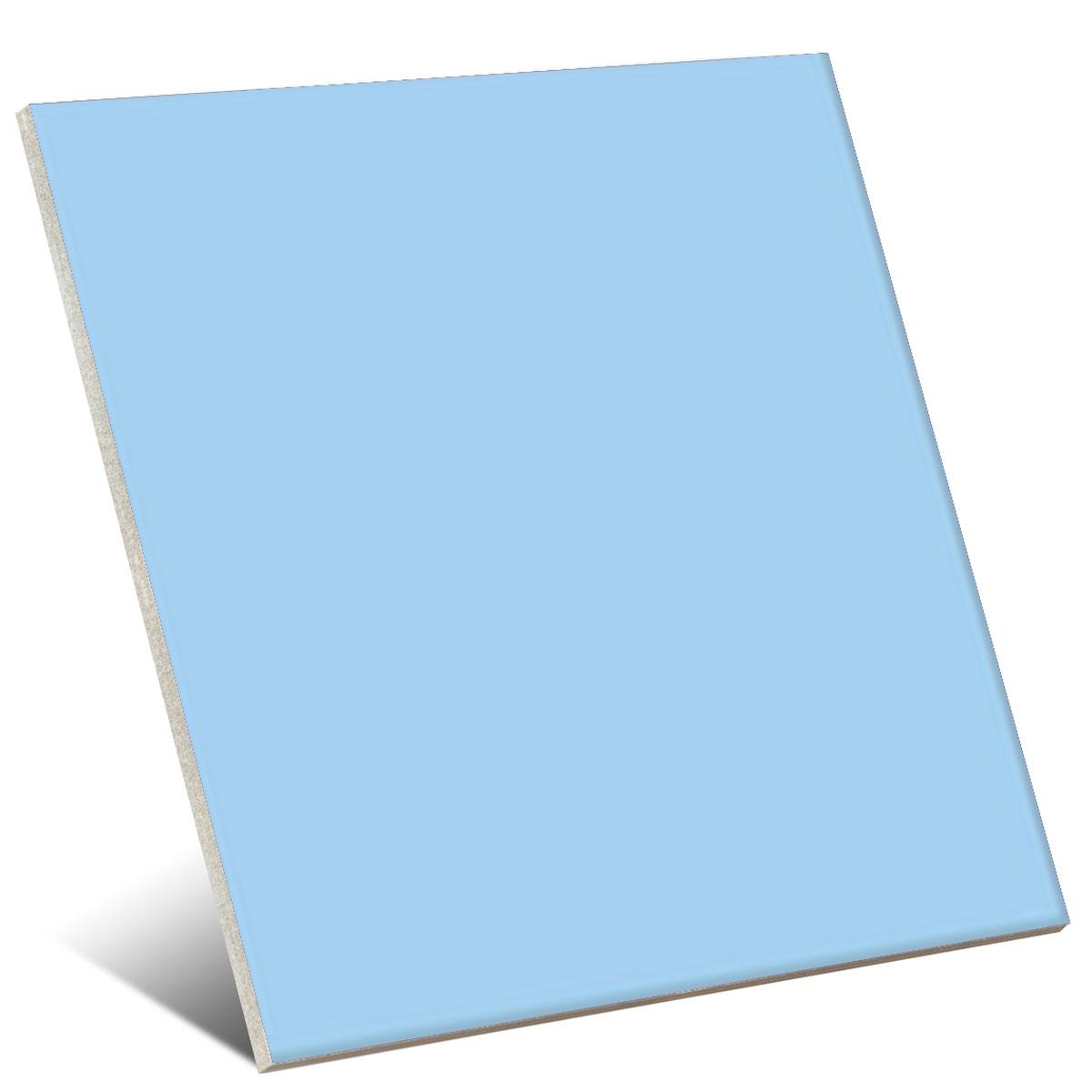 Color Celeste Brillo 20x20 cm (caja 1 m2)