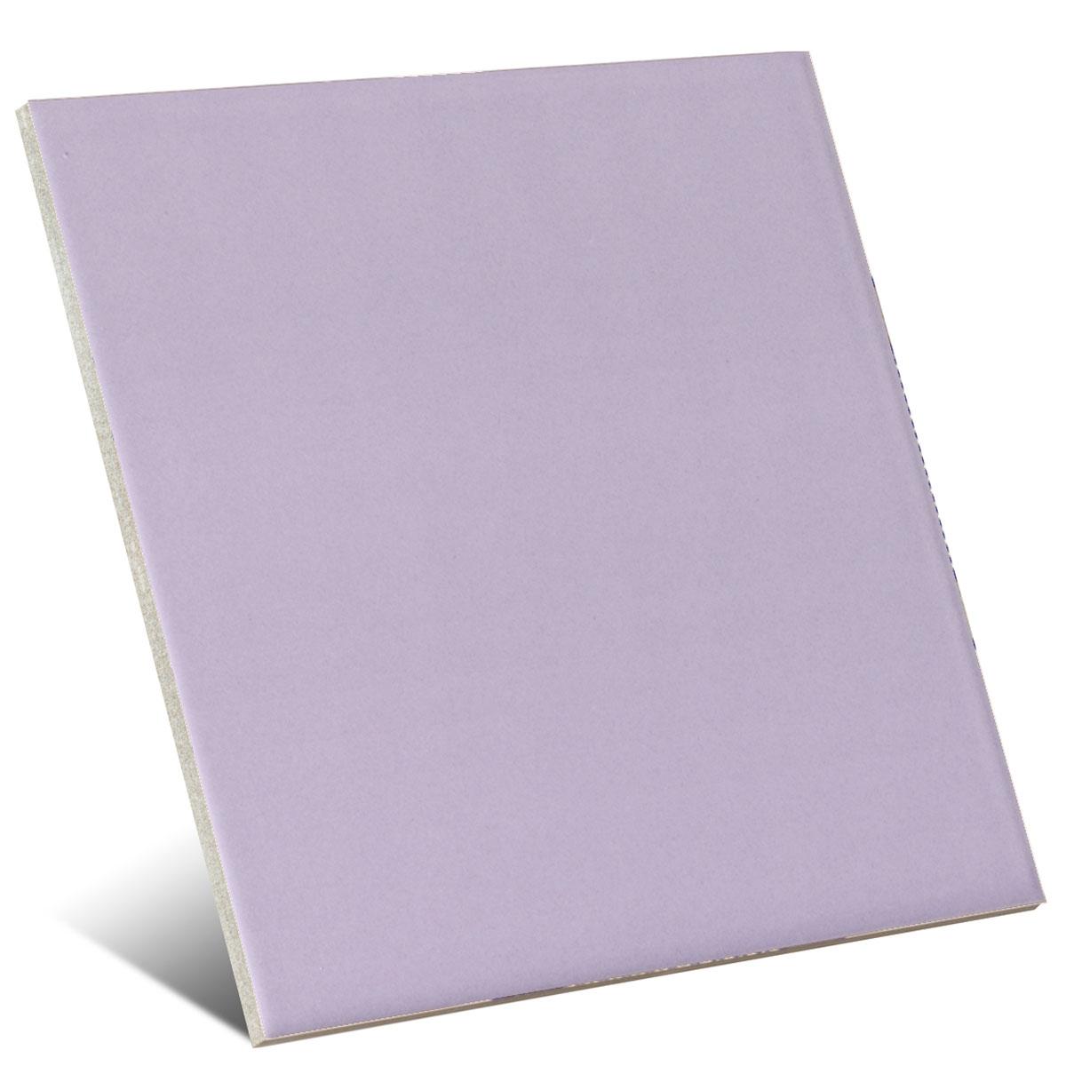 Color violeta mate 20x20 cm (caja 1 m2)