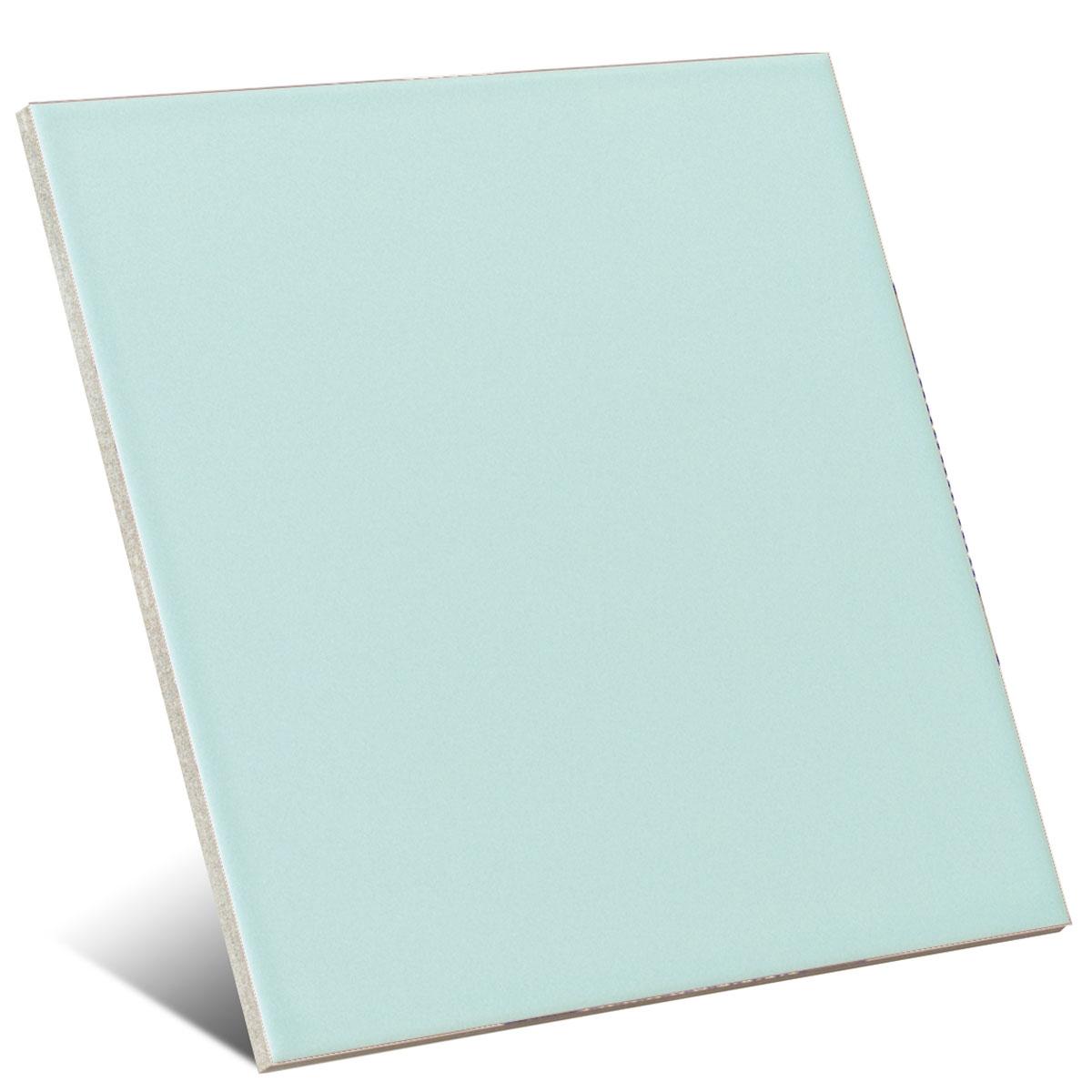 Color turquesa mate 20x20 cm (caja 1 m2)