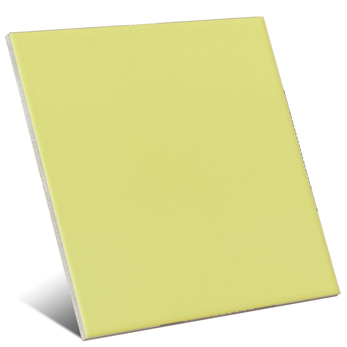 Color pistacho mate 20x20 cm (caja 1 m2)