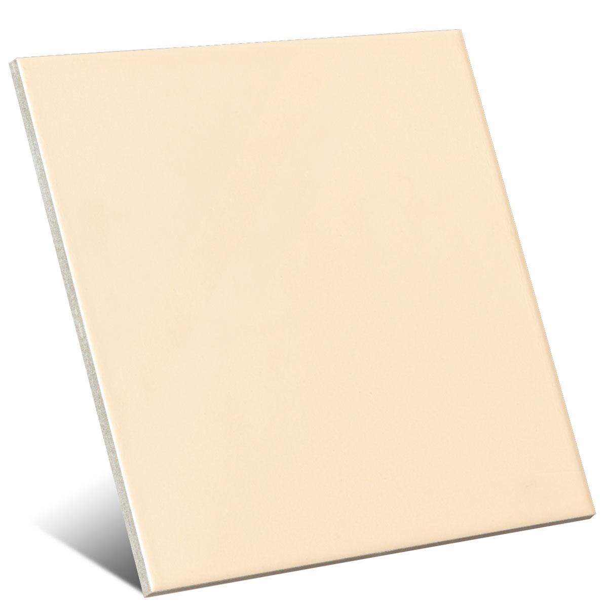 Color beige mate 20x20 cm (caja 1 m2)