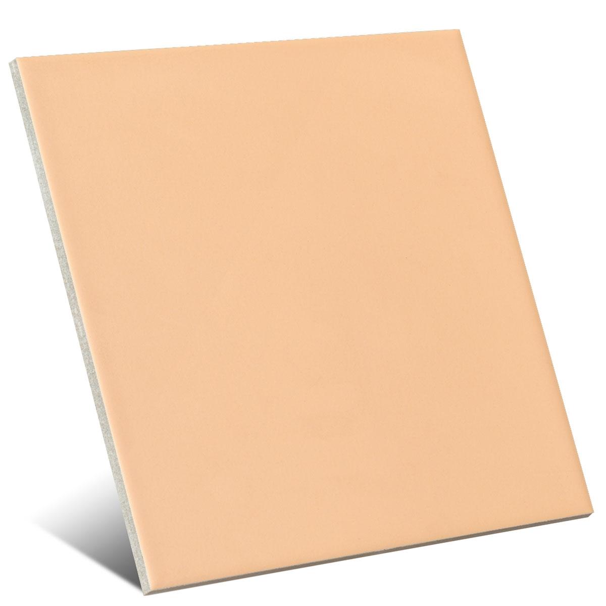 Color beige oscuro mate 20x20 cm (caja 1 m2)