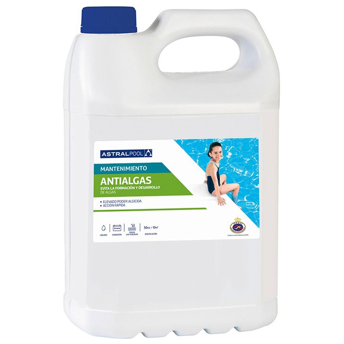 Antialgas - Limpieza de piscinas - Marca Astralpool