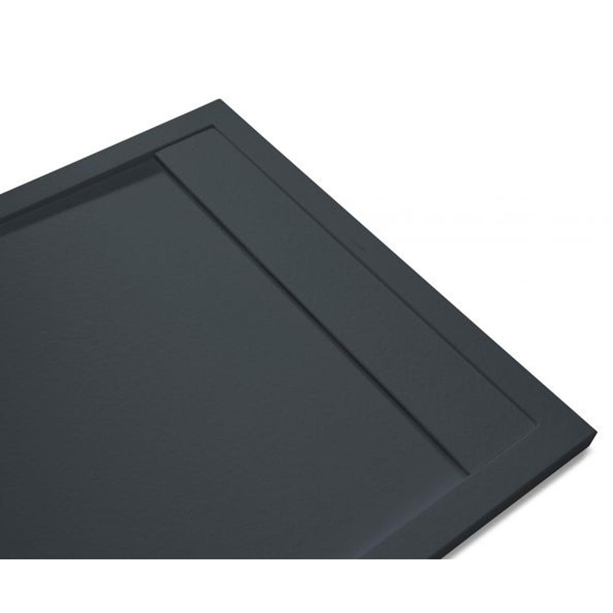 Andrómeda Stone Cover Rectangular Antracita 100x80 cm (ud)