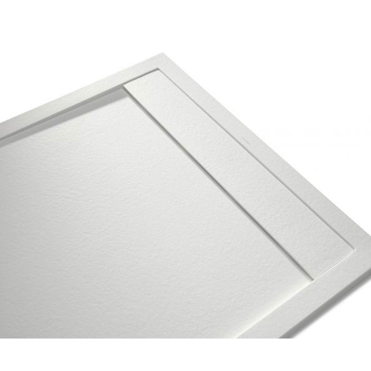 Andrómeda Stone Cover Rectangular Blanco 120x80 cm (ud)