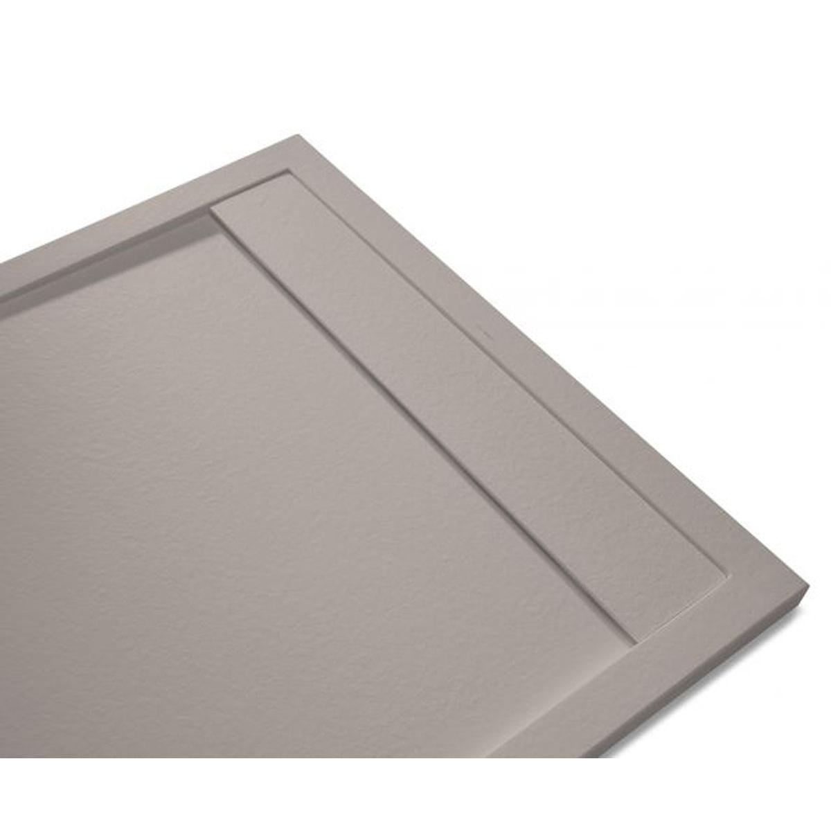 Andrómeda Stone Cover Rectangular Fango 120x80 cm (ud)