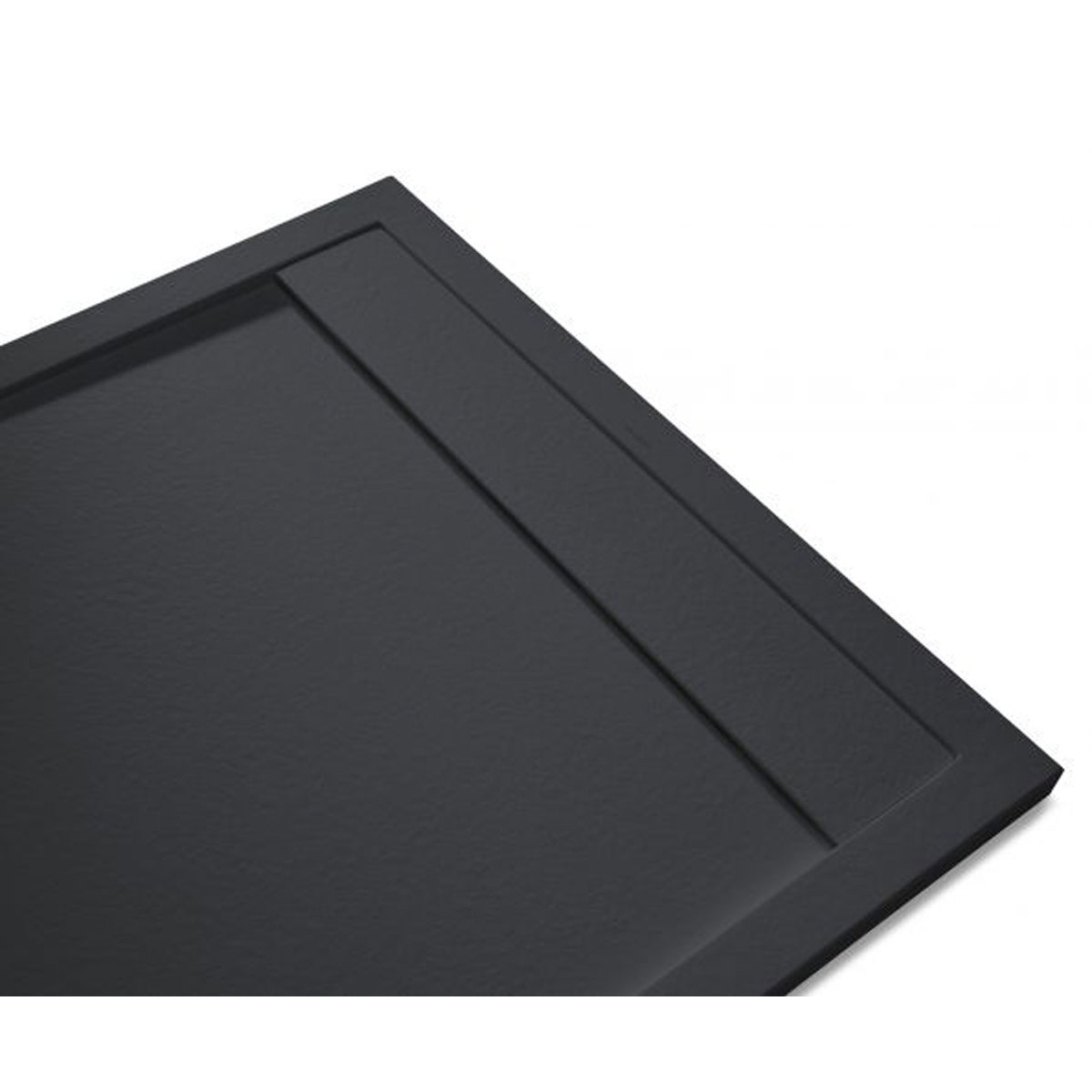 Andrómeda Stone Cover Rectangular Grafito 120x80 cm (ud)