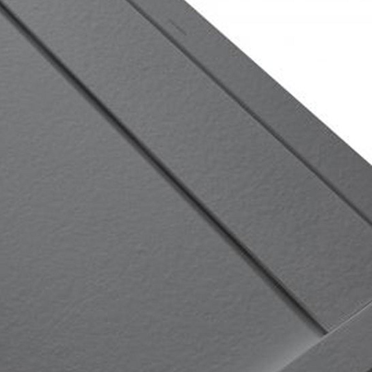 Plato de ducha rectangular 120x80 Andrómeda Stone Cover Cemento
