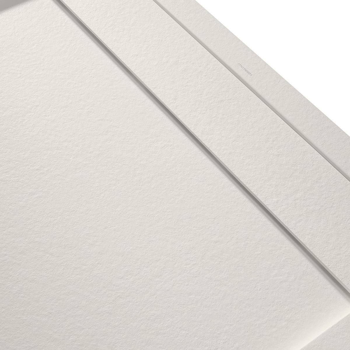 Plato de ducha rectangular 120x80 Andrómeda Stone Cover Marfil