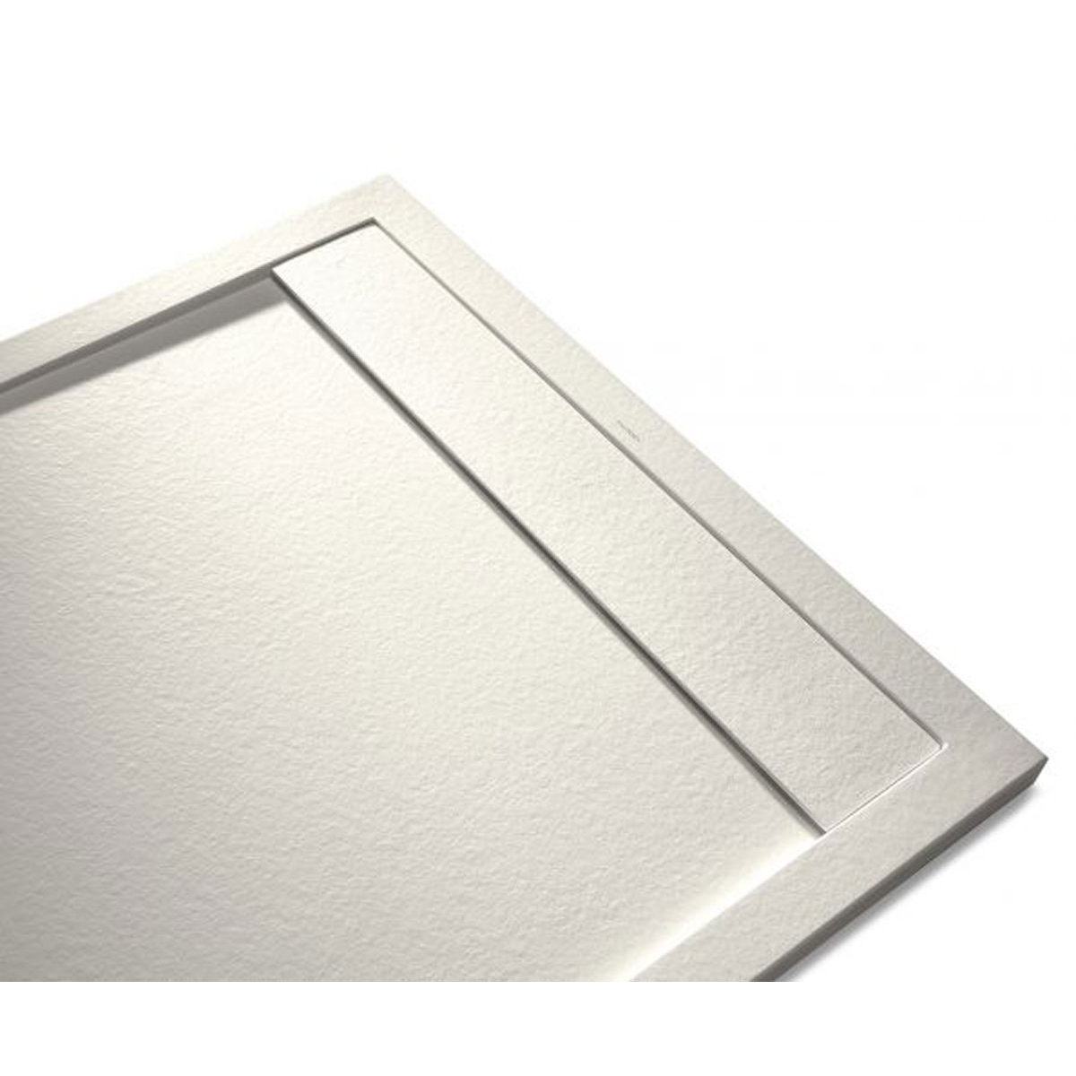Plato de ducha Rectangular 100x80 Andrómeda Stone Cover Beige