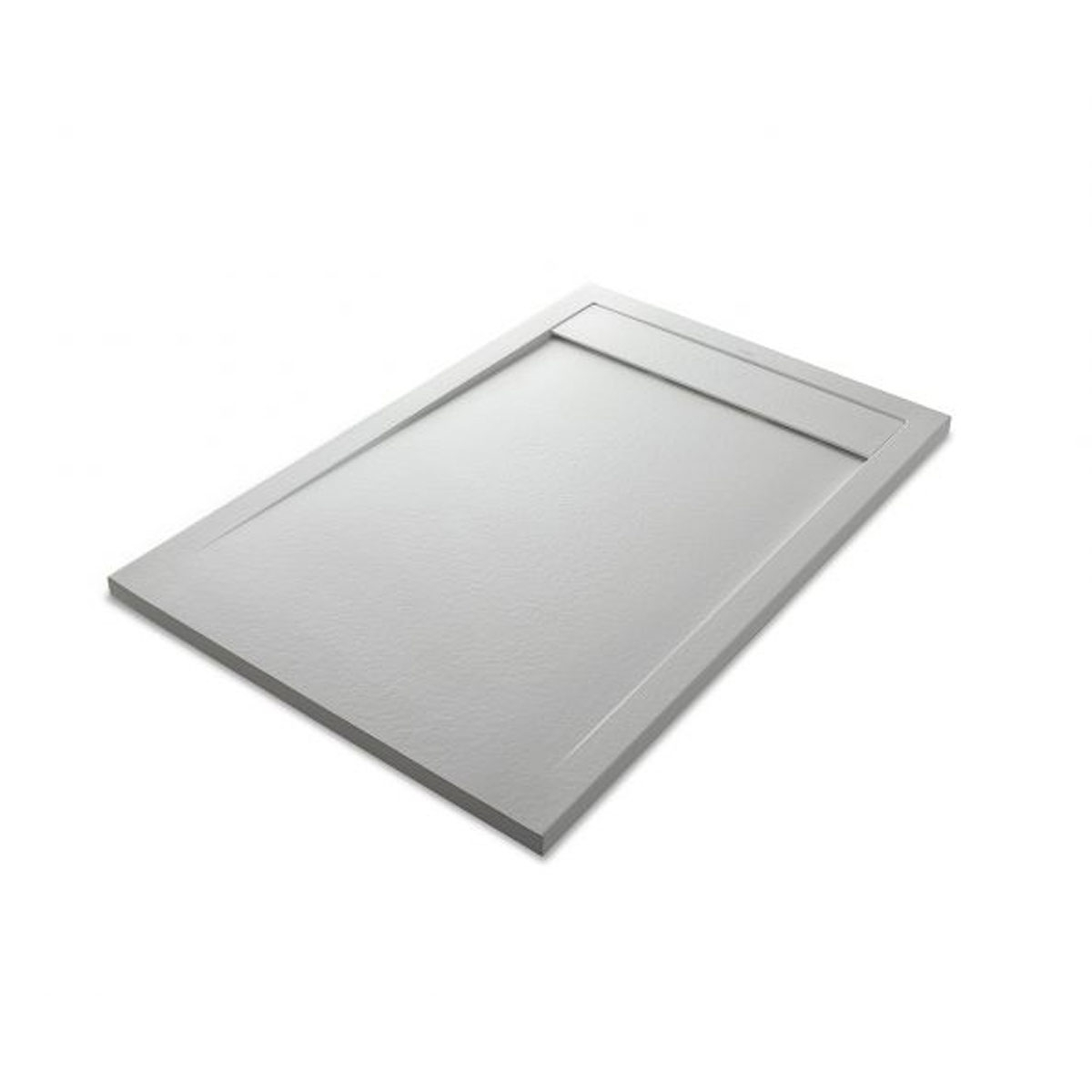 Plato de ducha rectangular 100x80 Andrómeda Stone Cover Perla