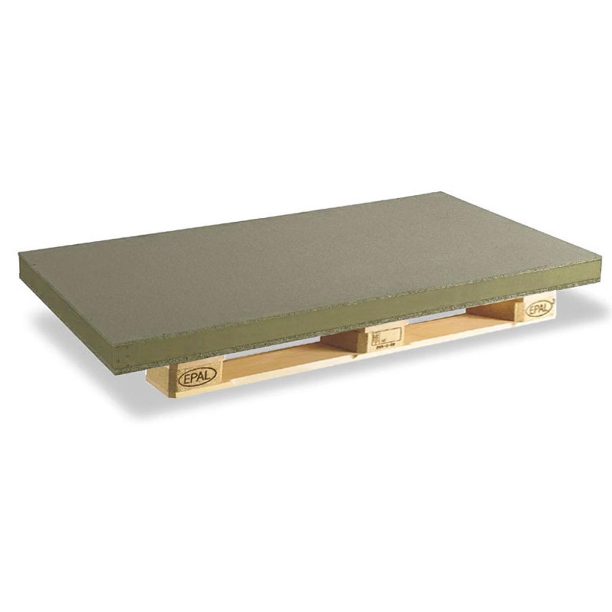 Plato de ducha rectangular 100x80 Ares Stone Nox Fango
