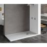 Plato de ducha rectangular 120x80 Ares Stone Nox Cappuccino