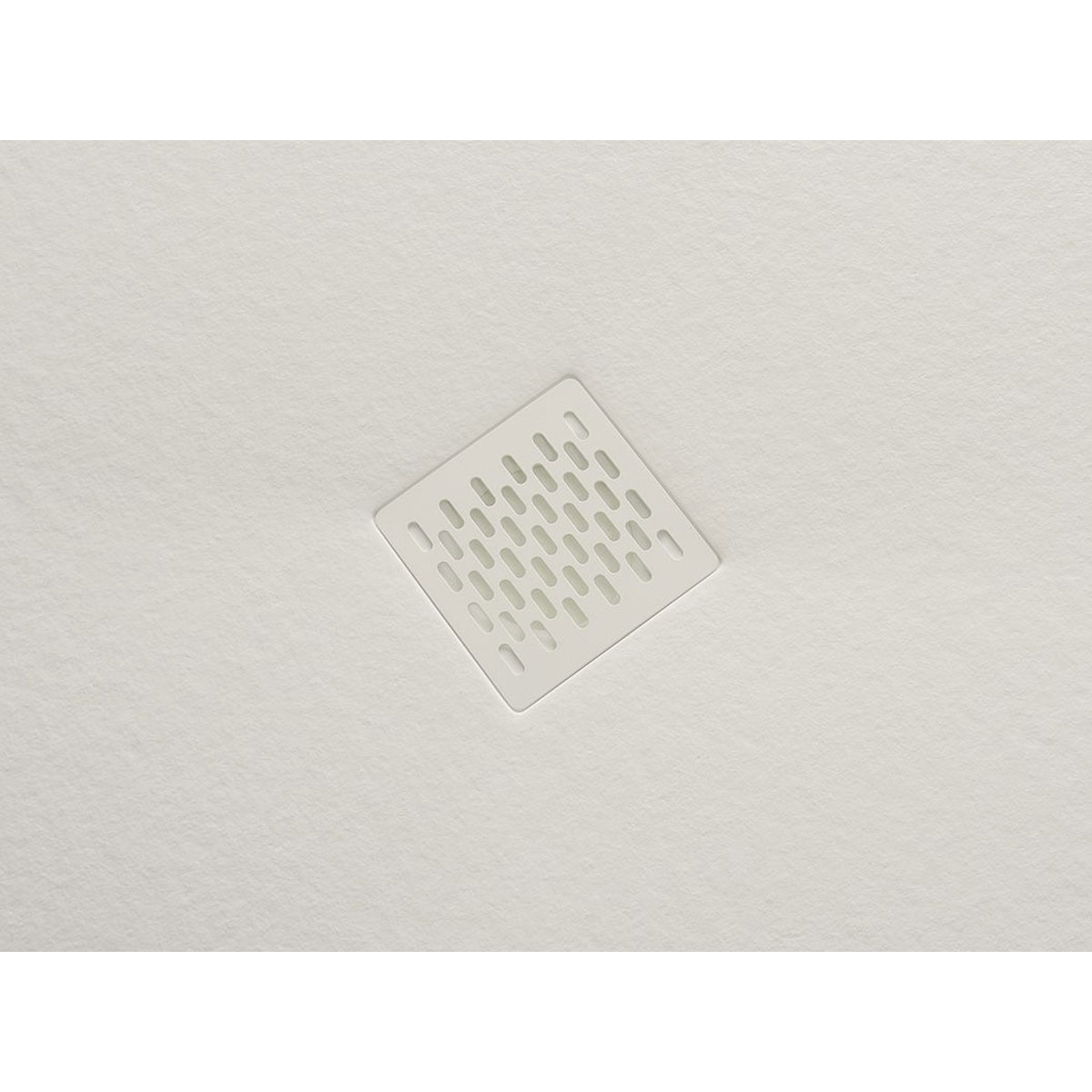 Plato de ducha rectangular 100x80 Coliseo Stone Nox Marfil