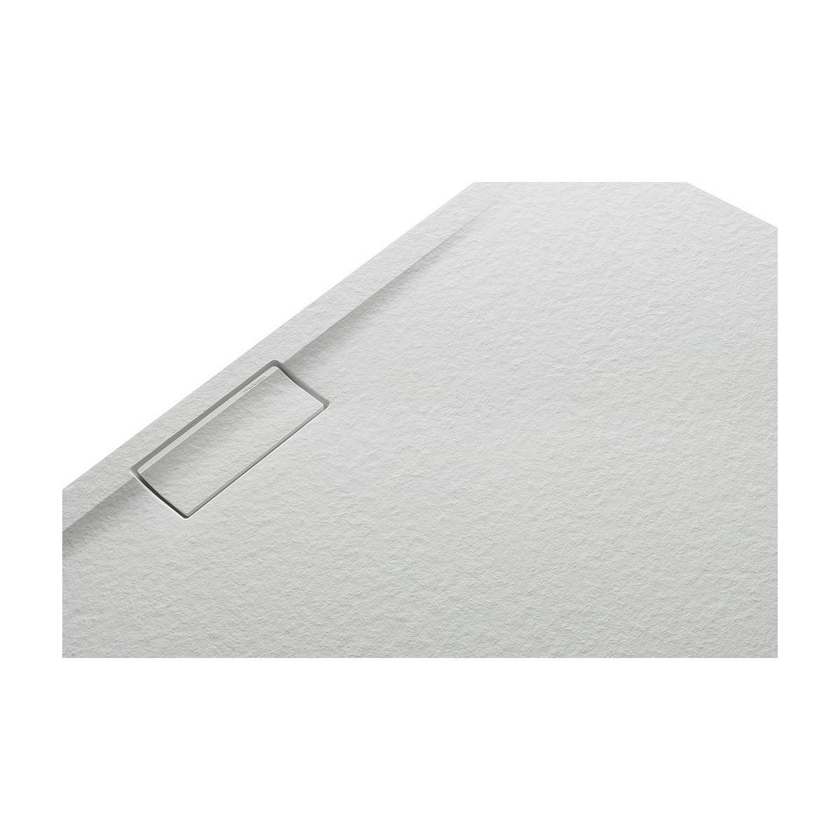 Plato de ducha rectangular 100x80 Nova Stone Cover Perla