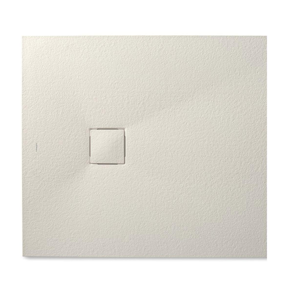 Plato de ducha rectangular 100x80 Zeus Vulcano Beige