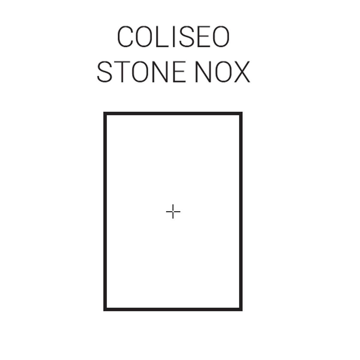 Plato de ducha rectangular 120x80 Coliseo Stone Nox Antracita