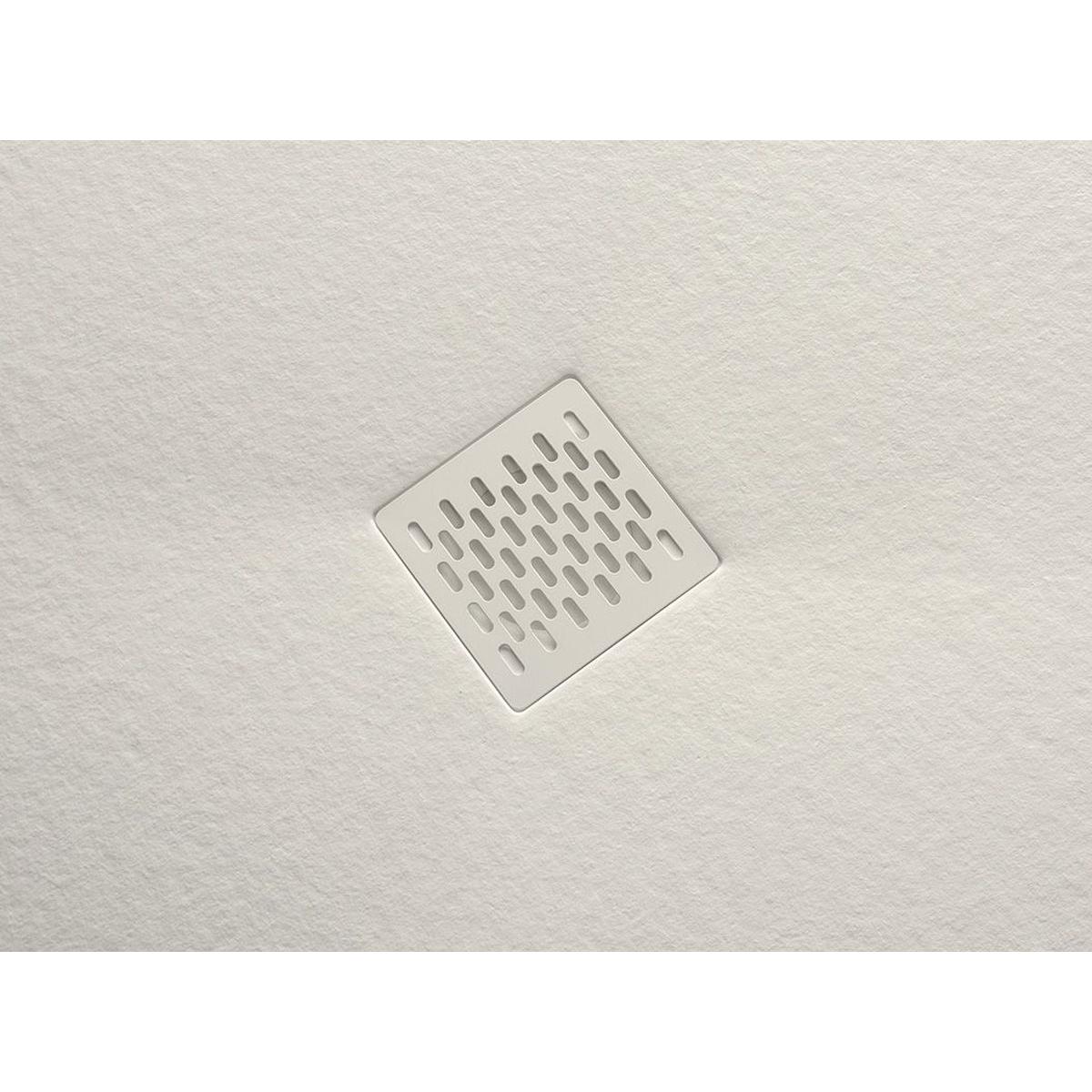 Plato de ducha rectangular 120x80 Coliseo Stone Nox Beige