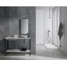 Plato de ducha rectangular 120x80 Mirage Calacatta
