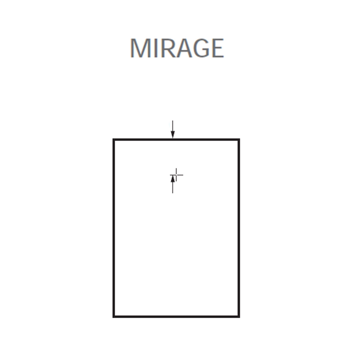 Plato de ducha rectangular 120x80 Mirage Travertino Beige