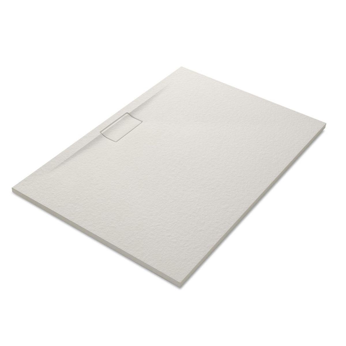 Plato de ducha rectangular 120x80 Nova Stone Cover Marfil