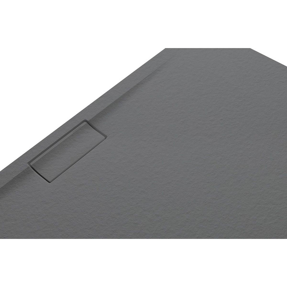Plato de ducha rectangular 120x80 Nova Stone Cover Cemento