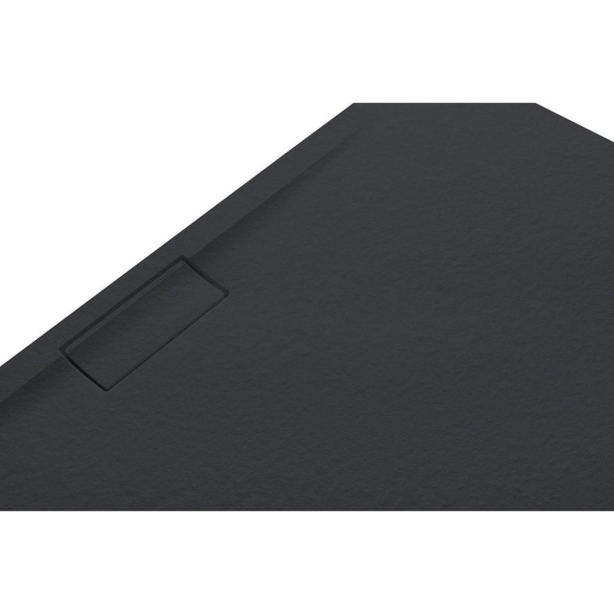 Plato de ducha rectangular 120x80 Nova Stone Cover Grafito