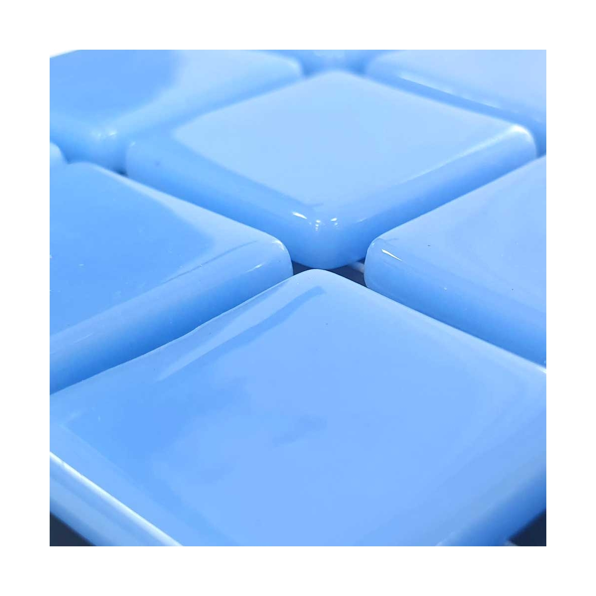 Gresite Azul Celeste Liso