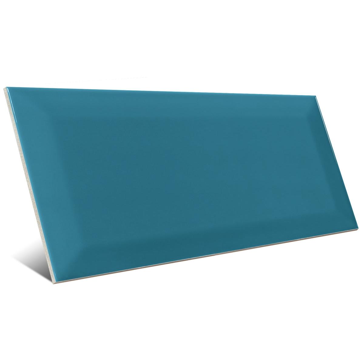 Bissel Blu Grey brillo 10x20 Mainzu