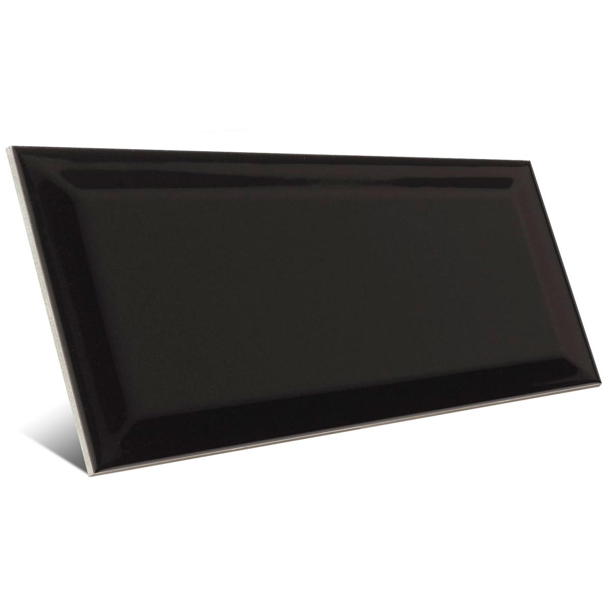 Bissel Negro brillo 10x20 Mainzu