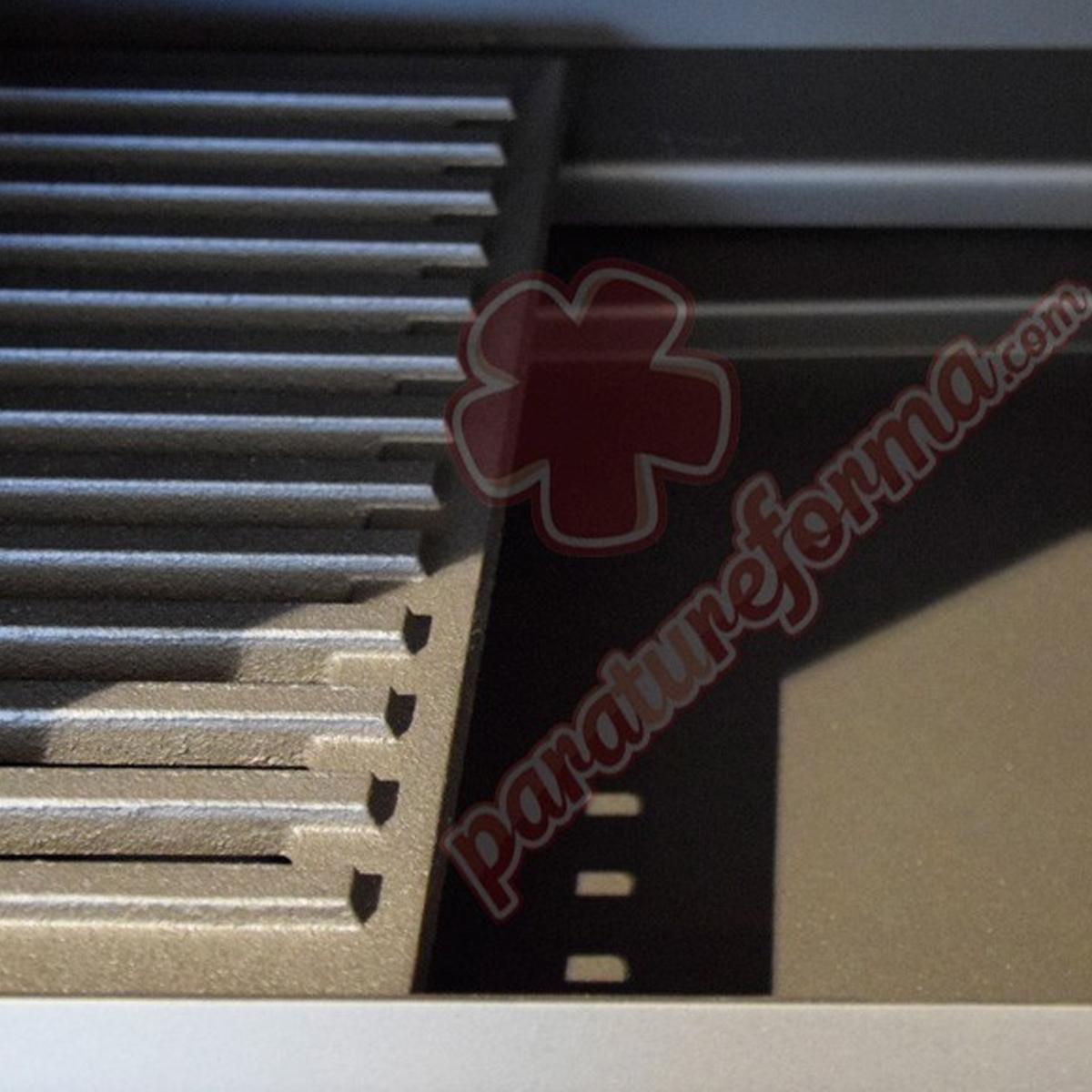 Estufa de leña con horno M-104 + Regalo directo Estufas de leña FM Calefacción