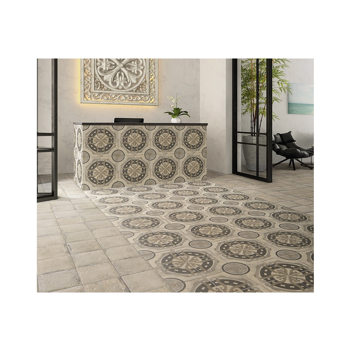 Norland Beige 20x20 (caja 1m2) Serie Norland