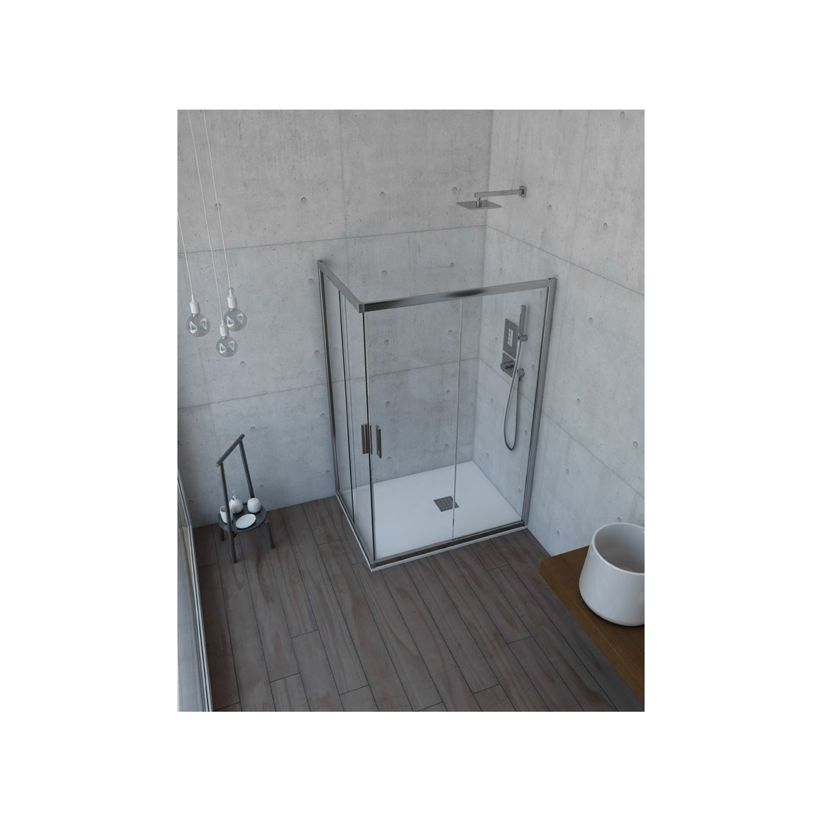 Mampara económica para ducha Orinoco