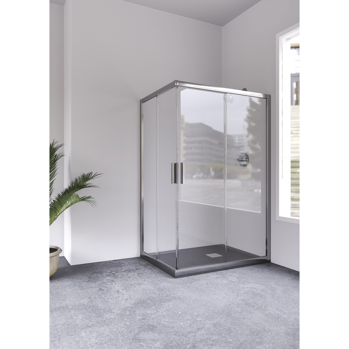Mampara económica para ducha Orinoco Anna Bagno