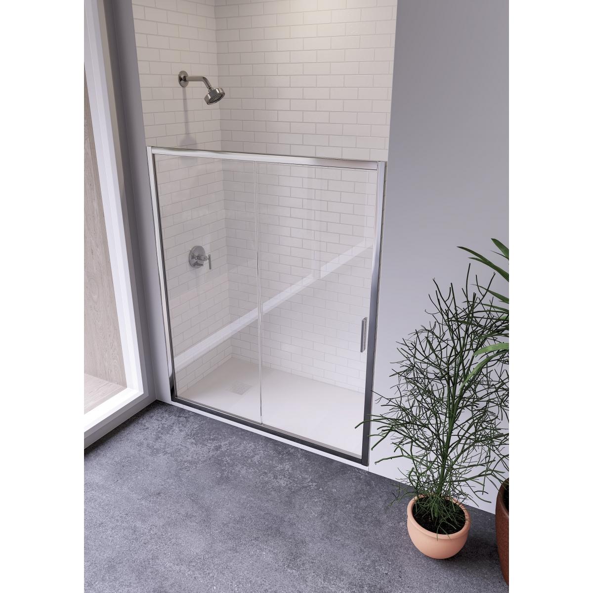 Mampara económica para ducha Tiber - Mamparas de duchas - Marca Anna Bagno