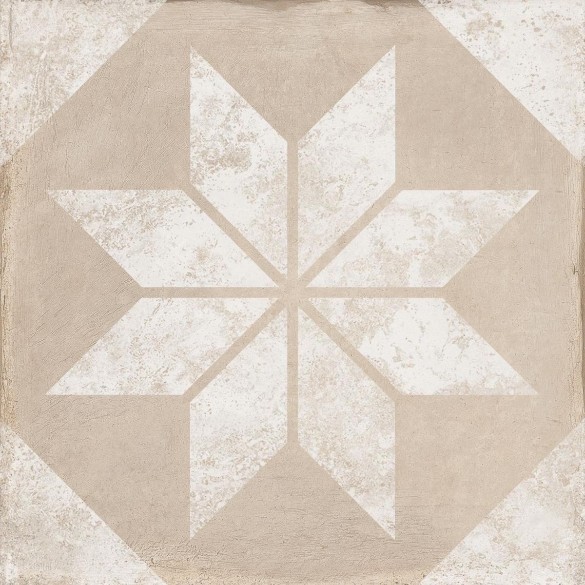 Triana Star Beige 25x25 (m2) - Serie Triana - Marca Keros Cerámica