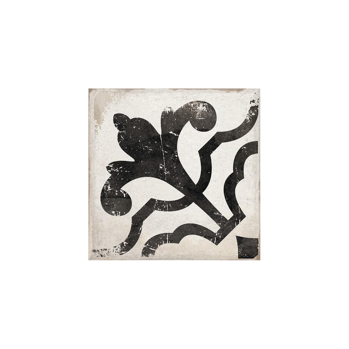 Baldosa porcelánica imitación hidraúlico Olvera Black 15x15 barata