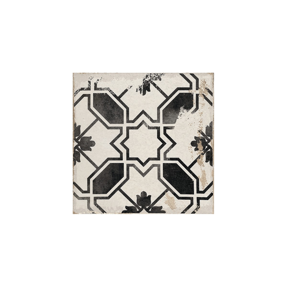 Caleta Black 15x15 (caja 0,5 m2) - Serie Village - Marca APE