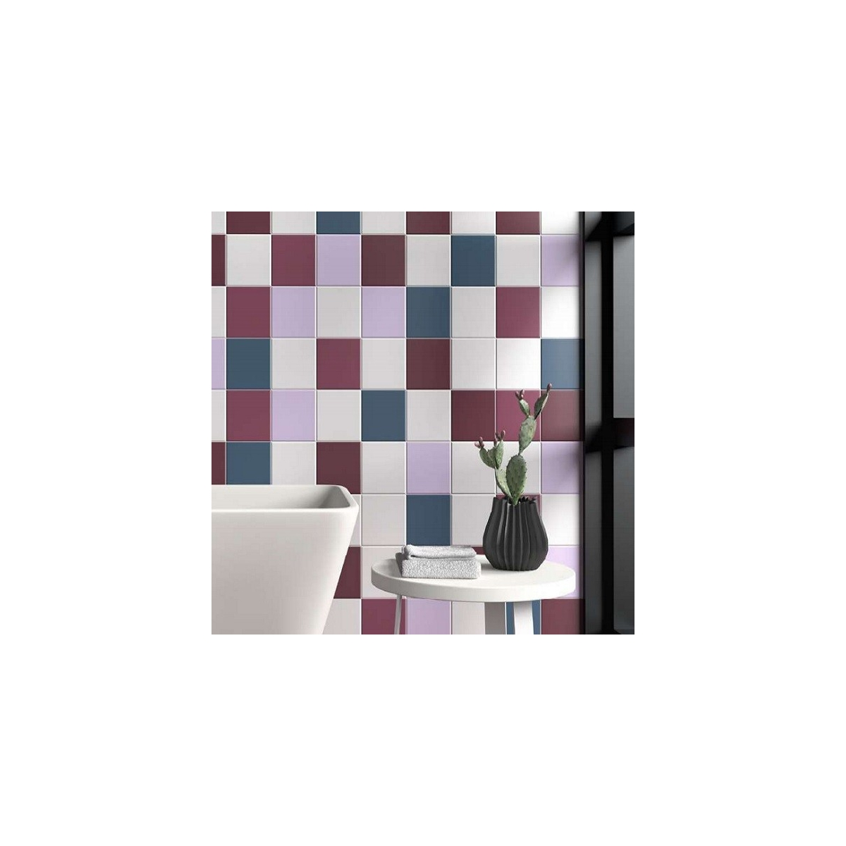 Suelo y azulejos Rainbow Amatista (m2) imitación a hidráulico económico