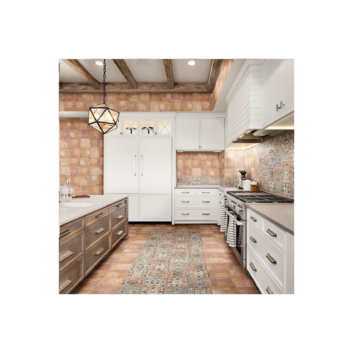 Suelo y azulejos Forli Cream (m2) imitación hidráulico barato - Serie Forli