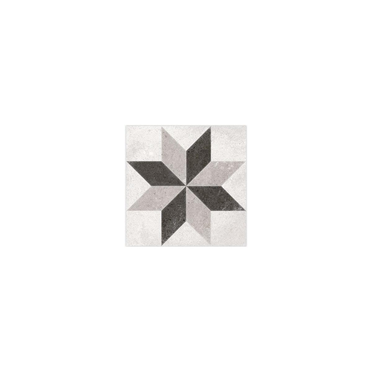 Taito Blanco 20x20 (m2) - Suelo imitación hidráulico antideslizante