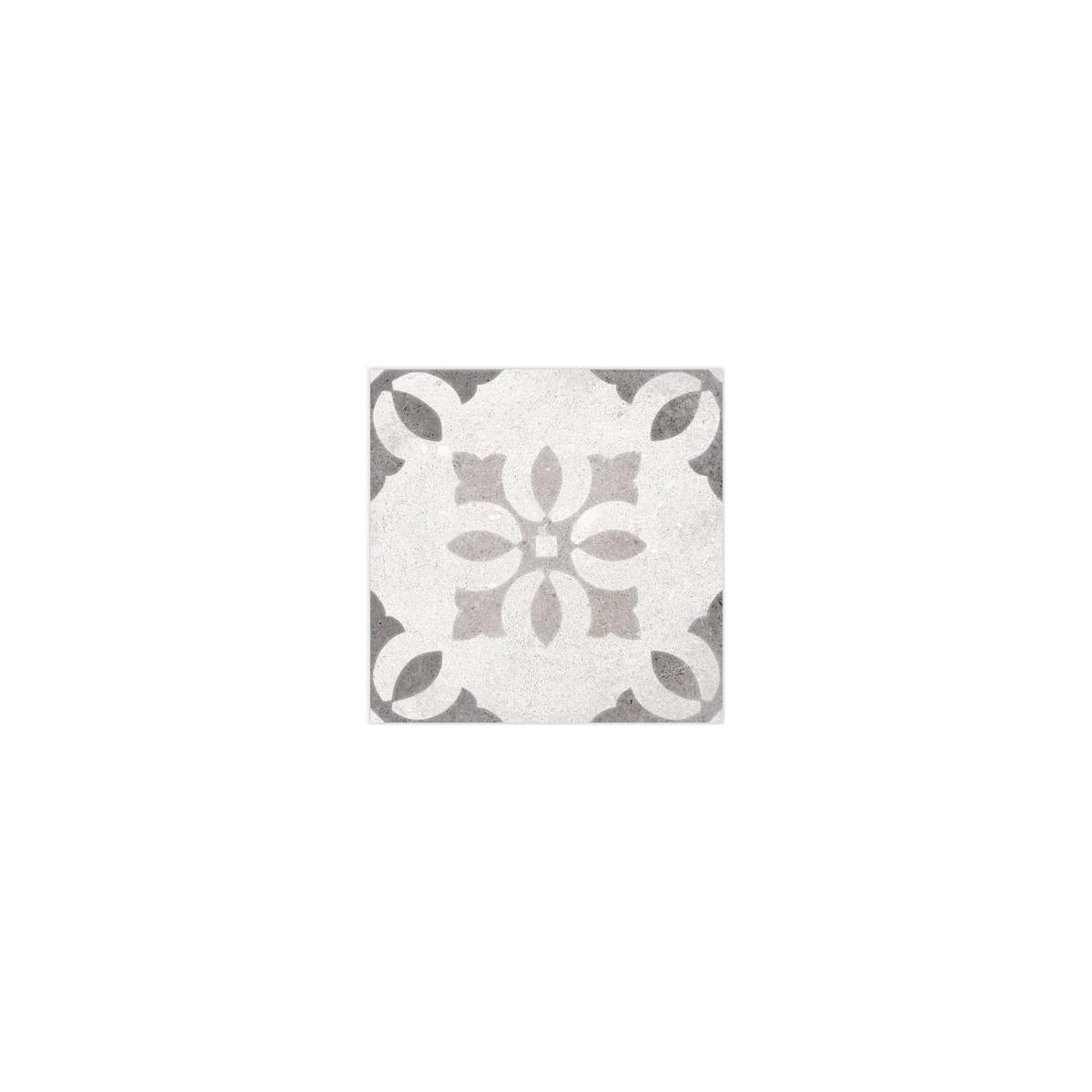 Pukao Blanco 20x20 (m2) - Pavimento imitación hidráulico interior y exterior