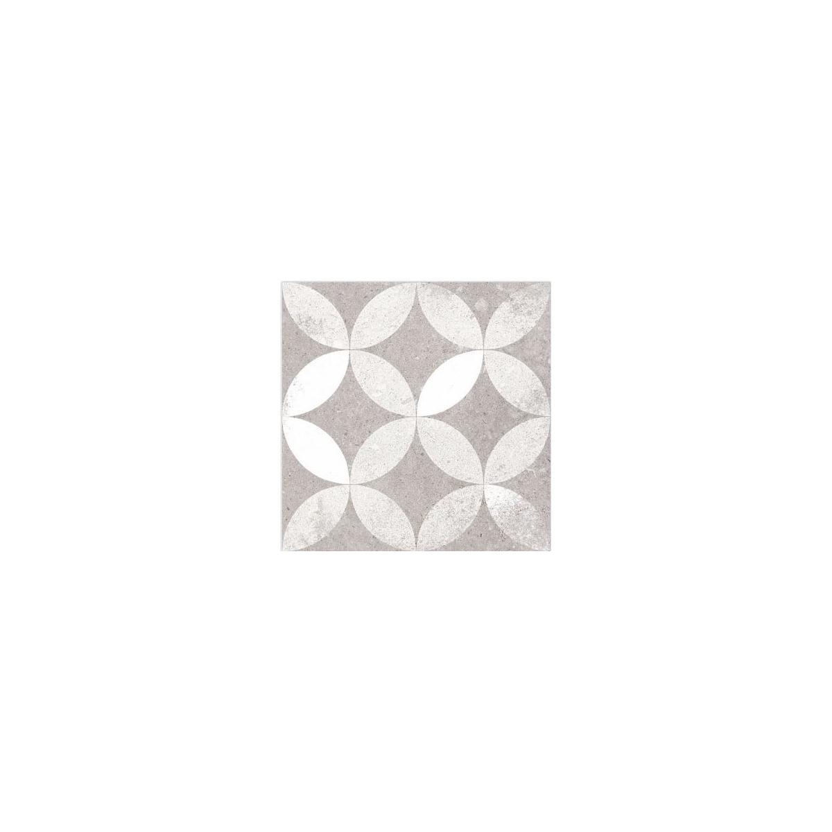 Kerala Gris 20x20 (m2) - Pavimento hidráulico Porcelánico interior y exterior