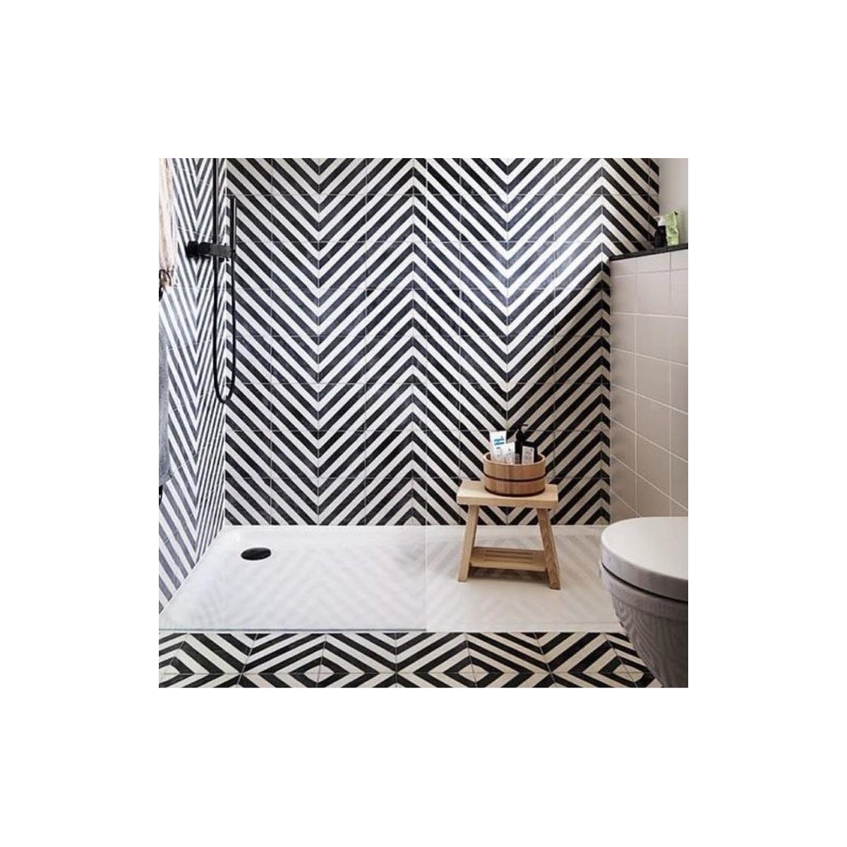Goroka Grafito (m2) - Pavimento hidráulico Porcelánico para interior y exterior - Serie Maori